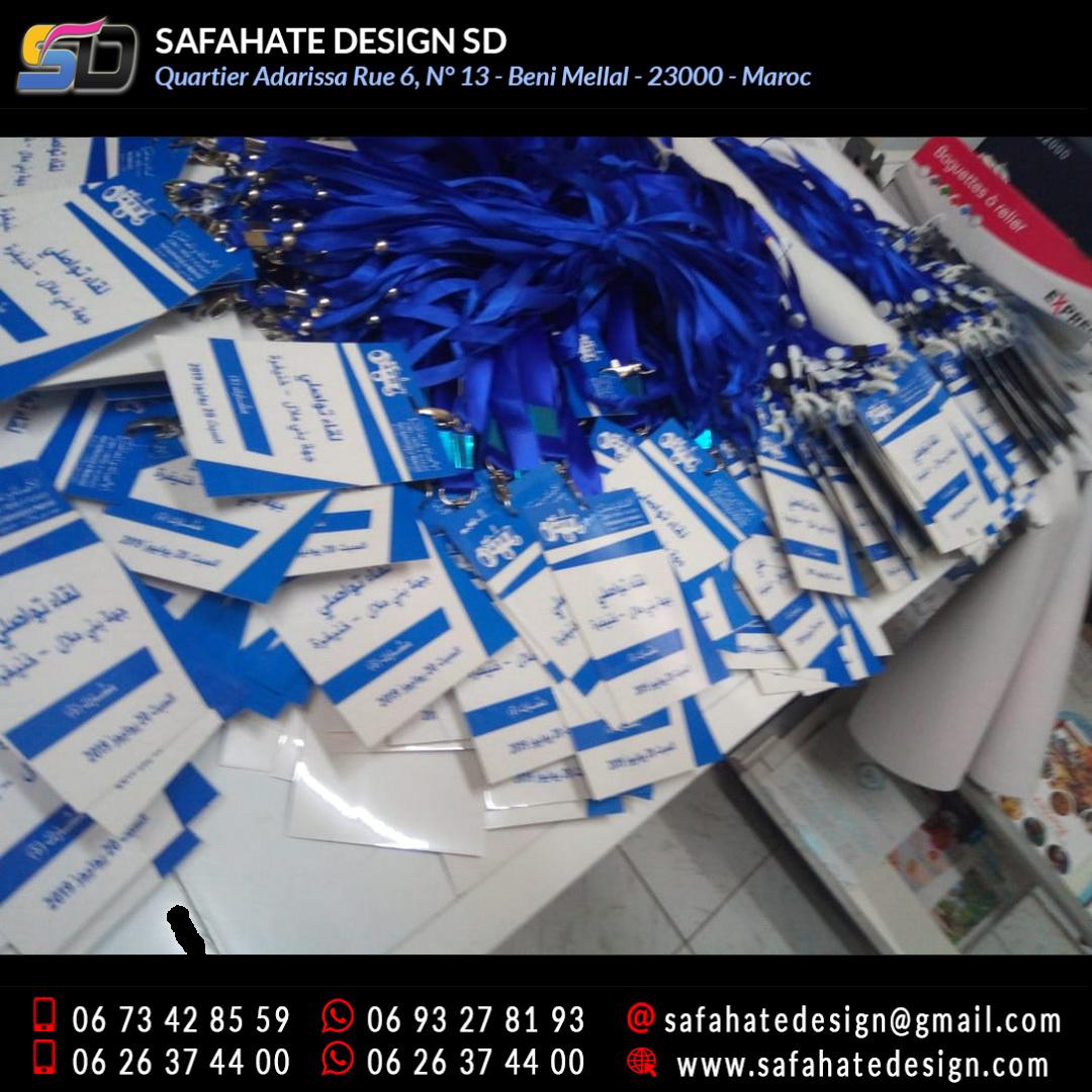 impression badges safahate design beni mellal _03