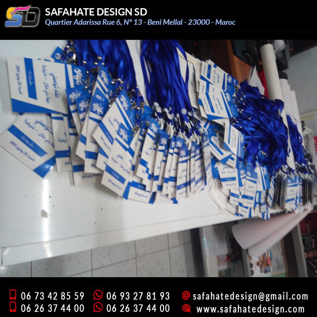 impression badges safahate design beni mellal _17