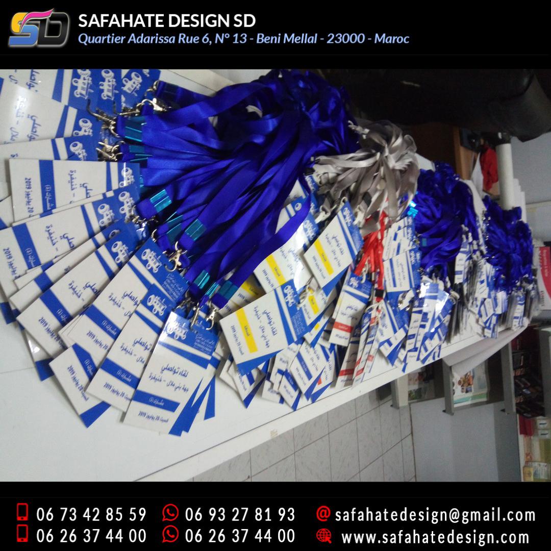 impression badges safahate design beni mellal _22