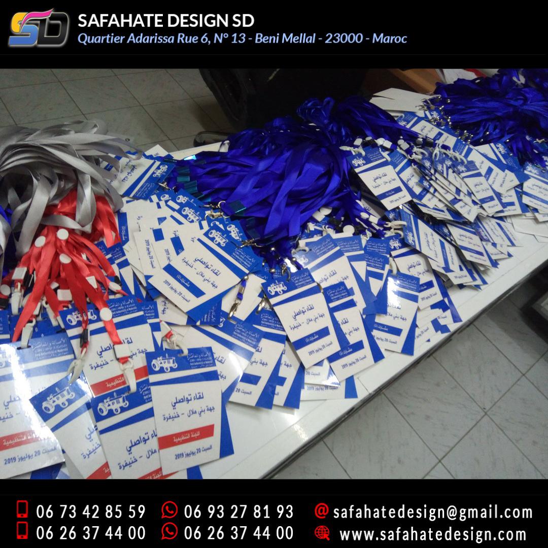 impression badges safahate design beni mellal _24