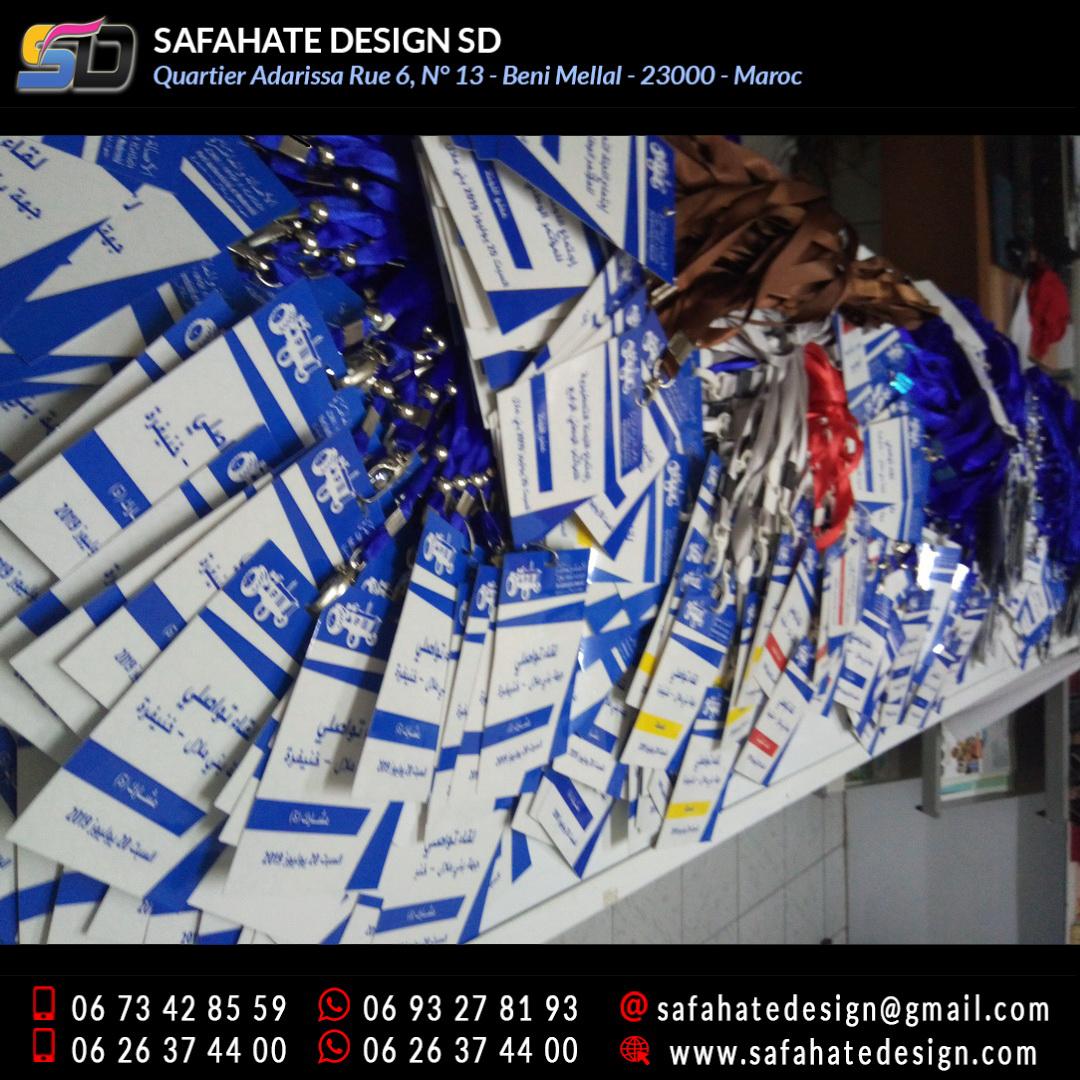 impression badges safahate design beni mellal _28