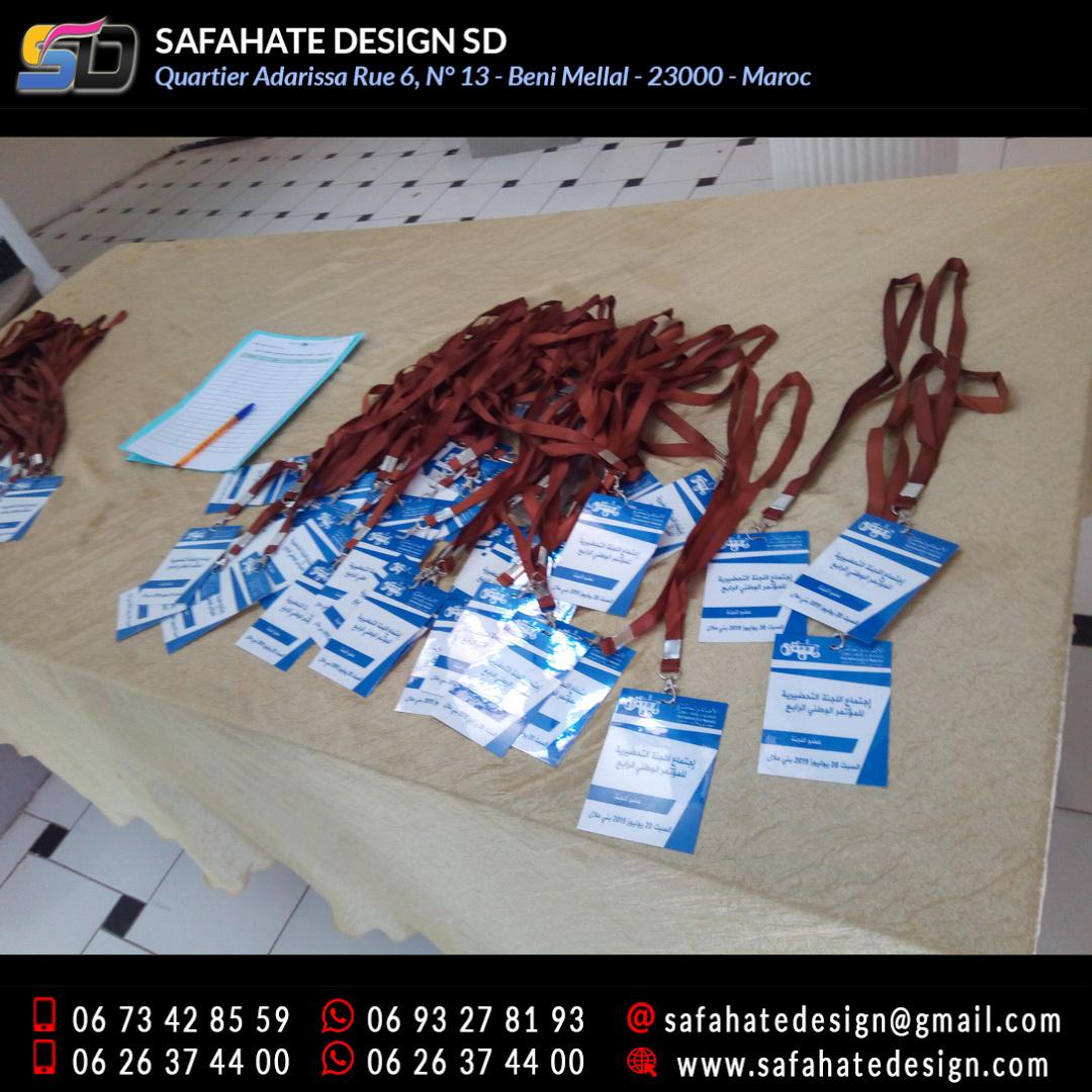 impression badges safahate design beni mellal _29