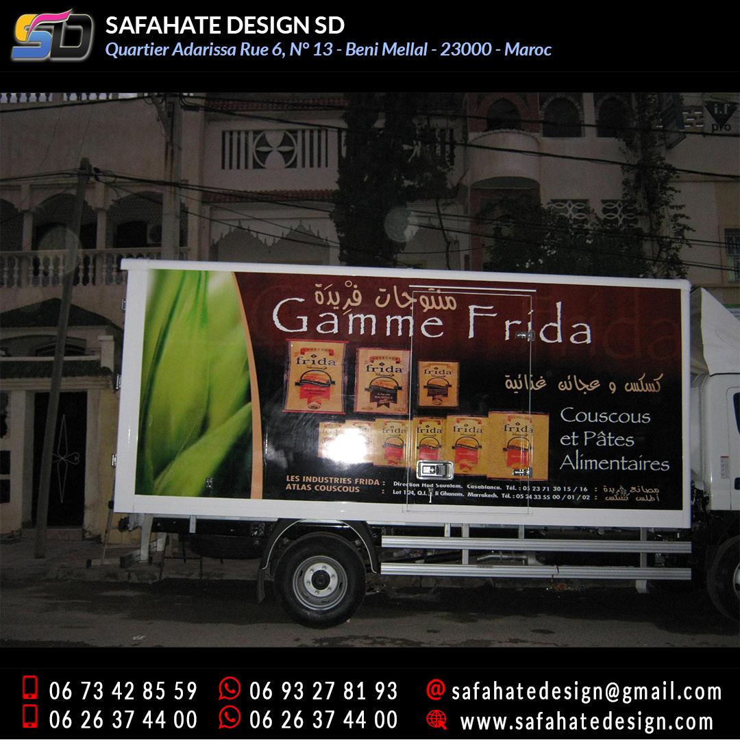 Habillage vehicule vinyl adhésif imprimerie safahate design beni mellal (14)
