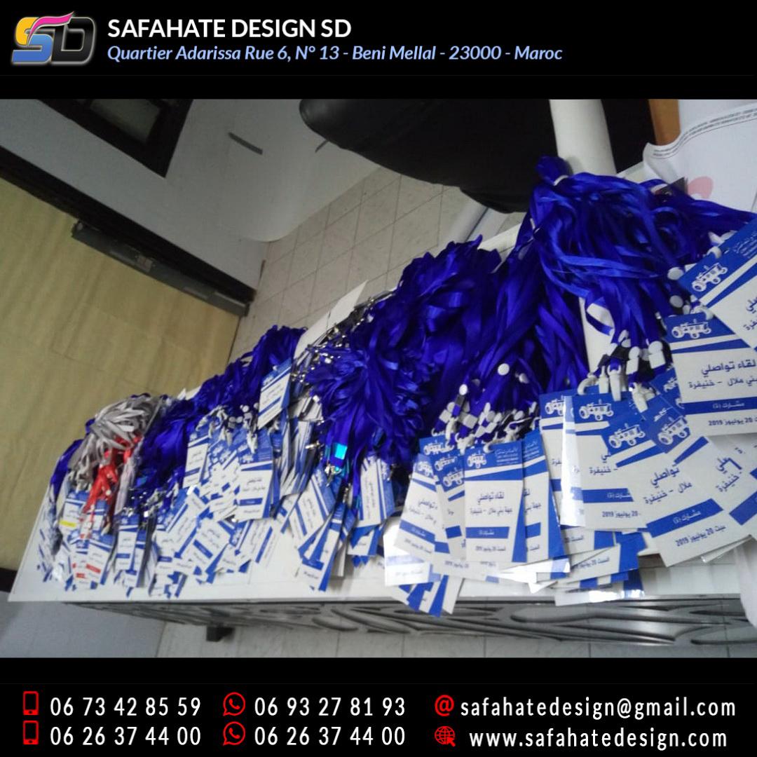 impression badges safahate design beni mellal _01