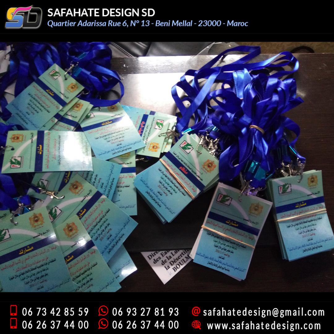 impression badges safahate design beni mellal _08