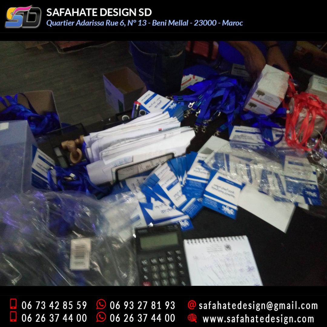 impression badges safahate design beni mellal _21