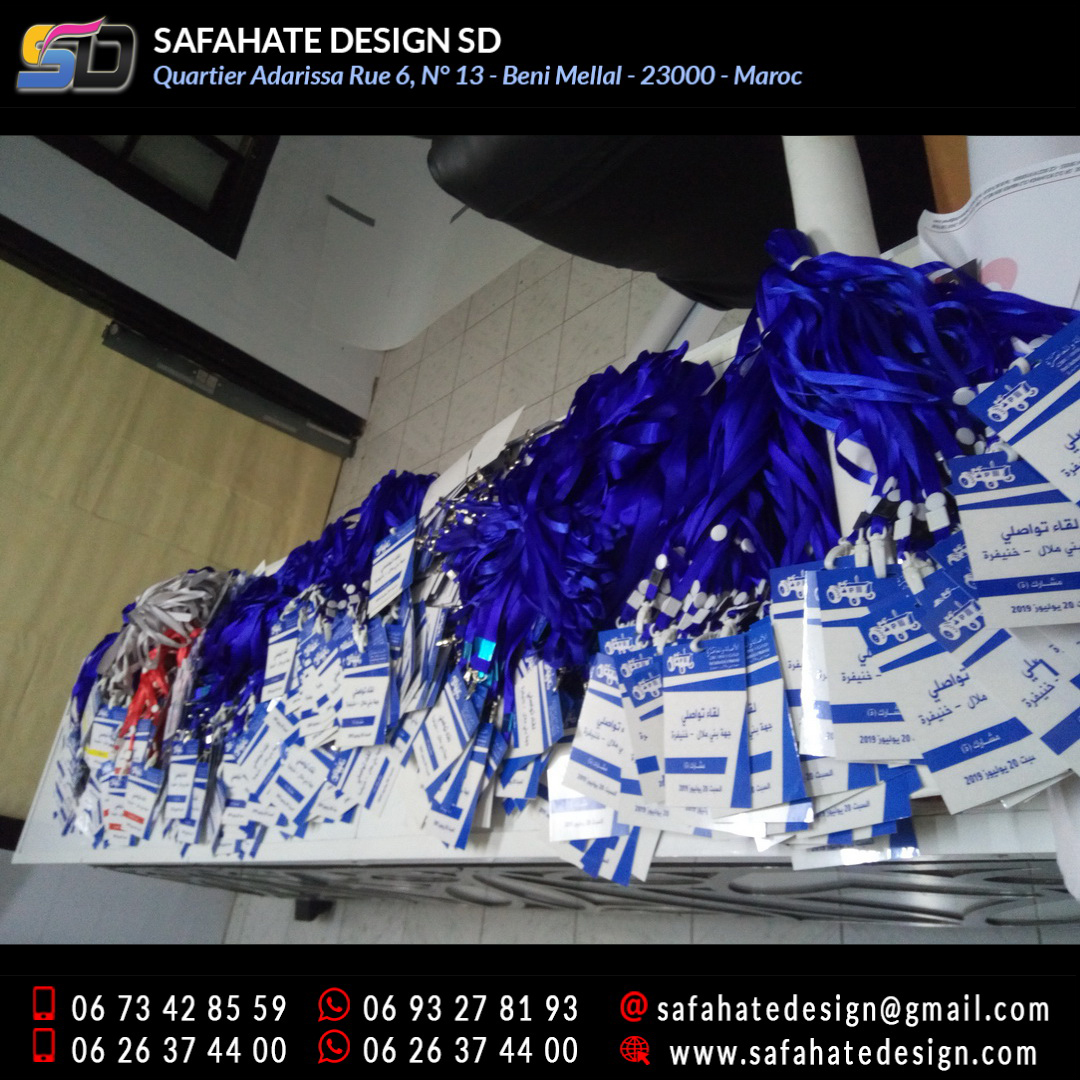impression badges safahate design beni mellal _26