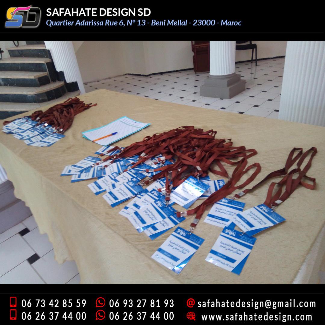 impression badges safahate design beni mellal _30