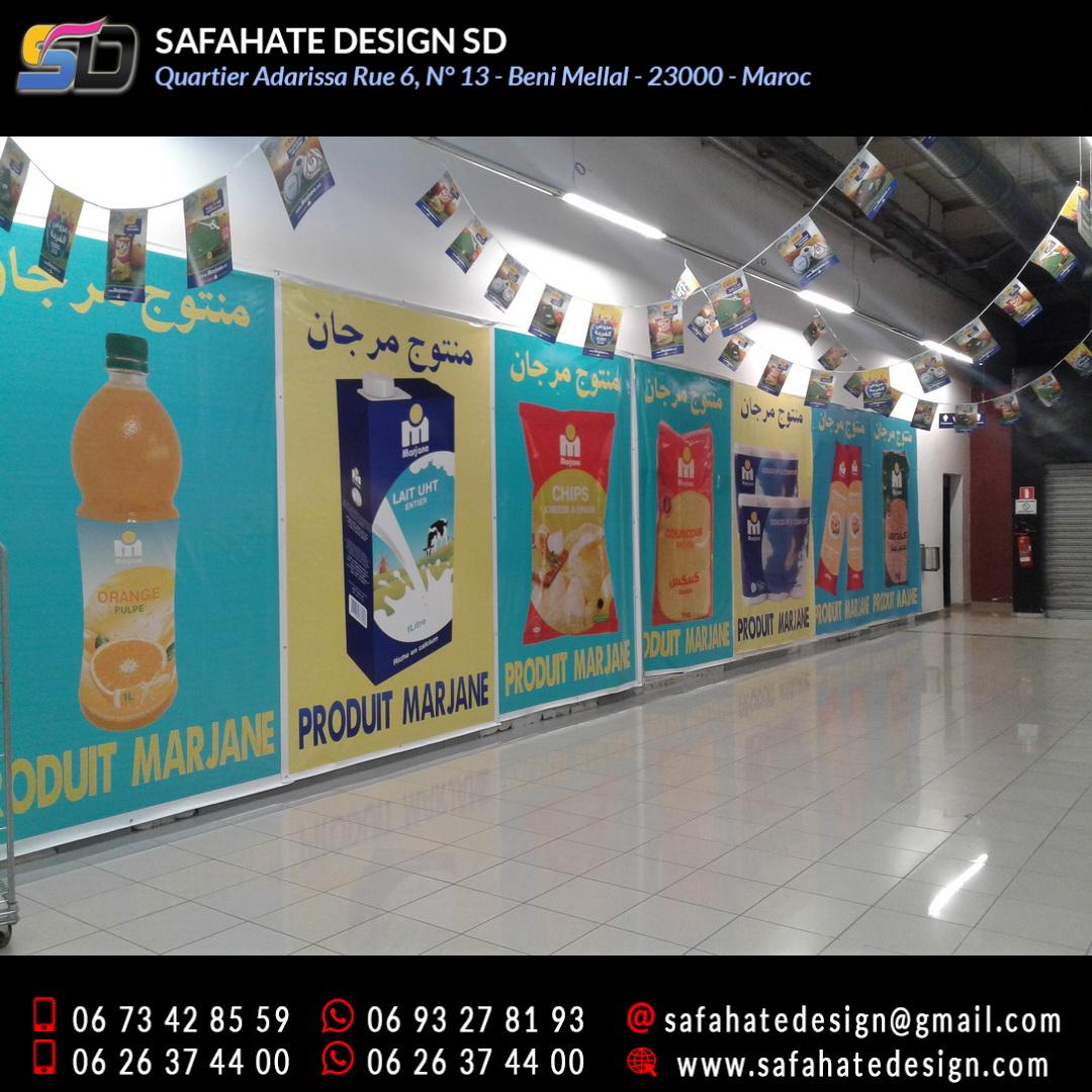impression grand format sur bache banderole safahate design beni mellal _17
