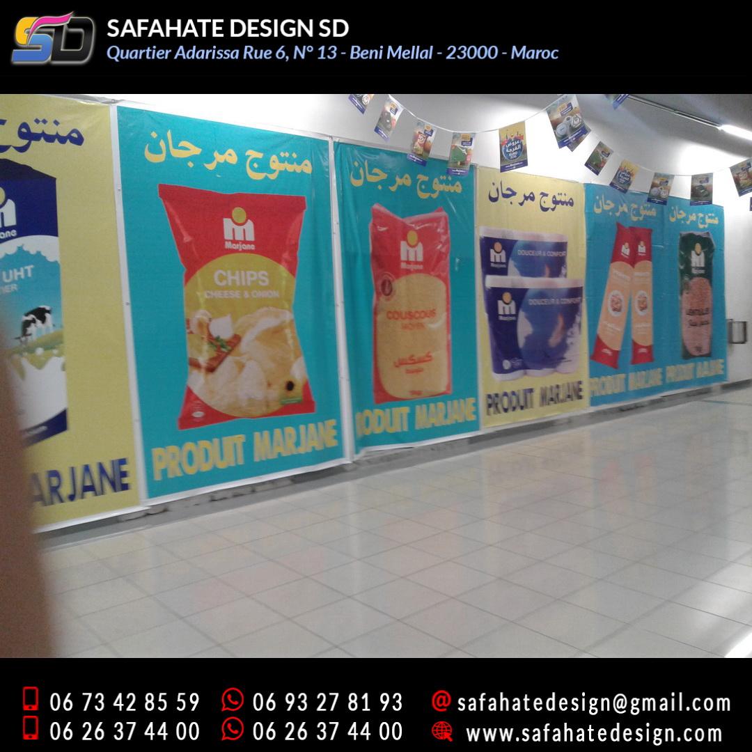 impression grand format sur bache banderole safahate design beni mellal _25