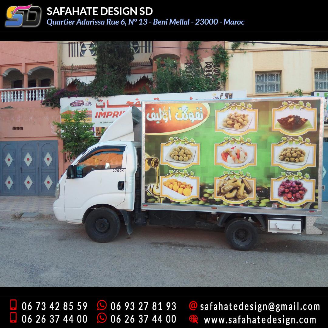 Habillage vehicule vinyl adhésif imprimerie safahate design beni mellal (17)