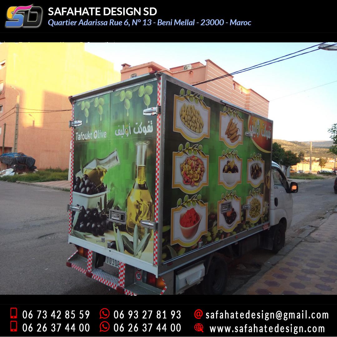 Habillage vehicule vinyl adhésif imprimerie safahate design beni mellal (18)
